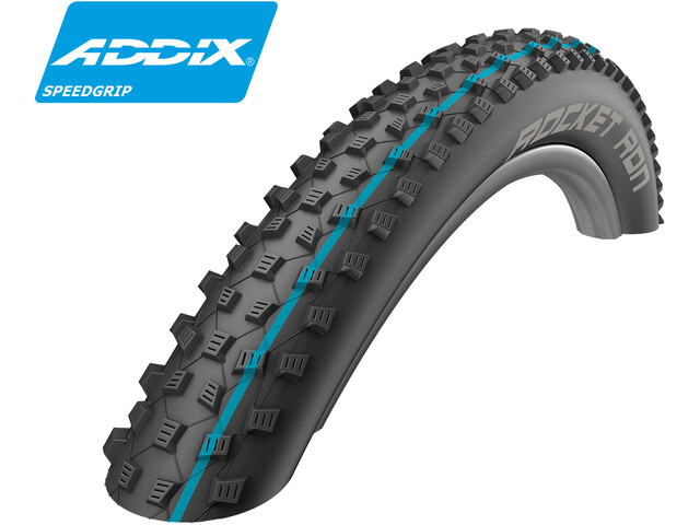 "SCHWALBE Rocket Ron Folding Tyre 27,5"" Addix Speedgrip SnakeSkin TL-Easy"